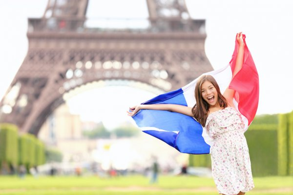 depositphotos 21564353 stock photo france french flag woman by
