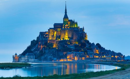 depositphotos 30543129 stock photo le mont saint michel